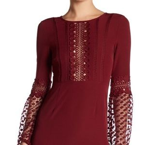 SALE! Romeo and Juliet Bell sleeve woven dress NWT